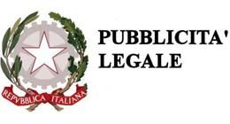 PUBBLICITA' LEGALE